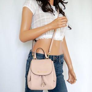 Michael Kors Riley S Flap Pack Crossbody Bag Pink